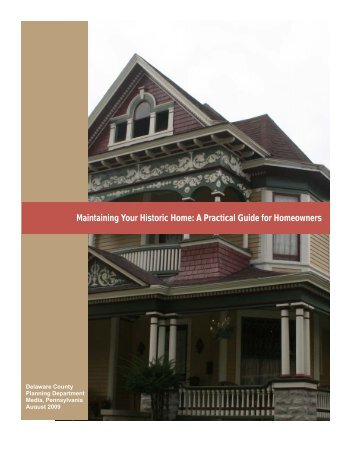 Maintaining Your Historic Home: A Practical Guide for Homeowners