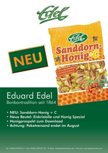Eduard Edel GmbH Bonbonfabrik
