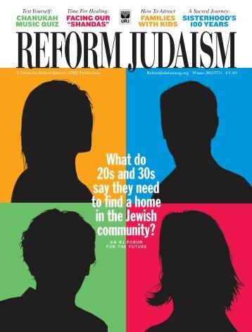 reform judaism - UAHC