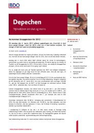 Du kan læse Depechen i pdf her - BDO