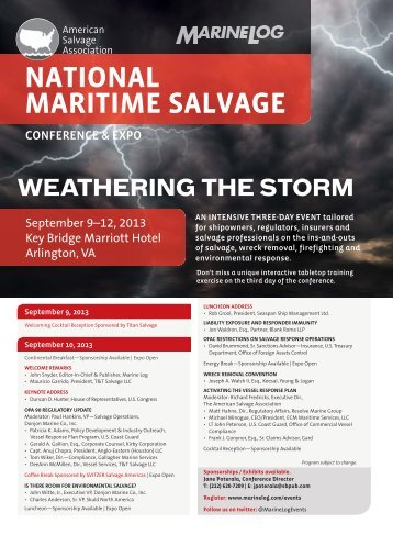 NATIONAL MARITIME SALVAGE - NAMSGlobal