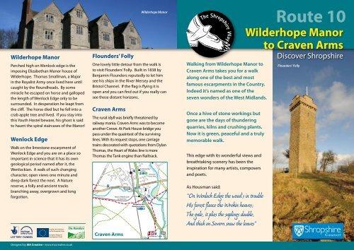 Guide Book PDF - Shropshire Walking