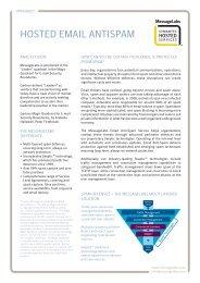 Symantec Hosted Email AntiSpam - Datasheet - [PDF ... - Education