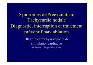 T Nodales, WPW hors ablation