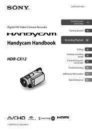 Handycam Handbook