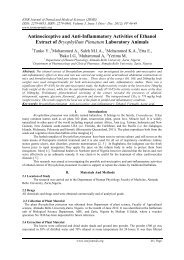 Antinociceptive and Anti-Inflammatory Activities of Ethanol Extract of ...