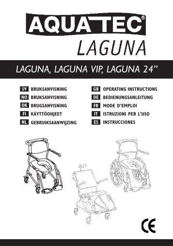 "LAGUNA, LAGUNA VIP, LAGUNA 24"" - Invacare"