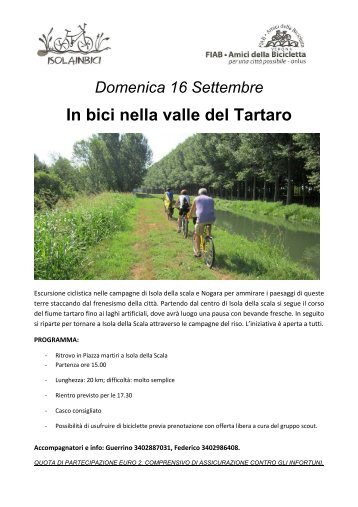In bici nella valle del Tartaro - Amici della Bicicletta di Verona