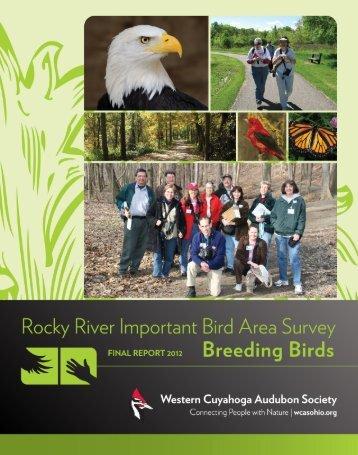 Final IBA Report - Western Cuyahoga Audubon Society
