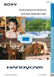 Guide pratique de Handycam DCR-SR47/SR48/SR67/SR87