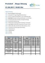 Protokoll 2. StuPa Sitzung 21.06.2011 - KeinDrama