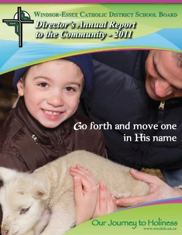 2011 Director's Annual Report - Windsor-Essex Catholic District ...