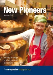 New Pioneers - The Co-operative