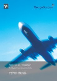 Travel Policy 2013 - Kent Police Federation