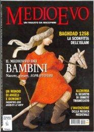 magazine Medioevo - Bologna Welcome
