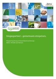 biogaspartner – gemeinsam einspeisen.