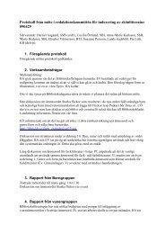 2009-04-29 - Svensk Biblioteksförening