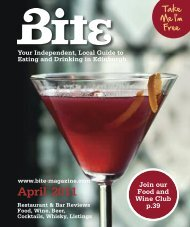 Download April 2011 - Bite Magazine