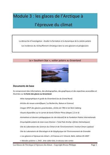 Module 3 : les glaces de l'Arctique à l'épreuve du climat - 69 Nord