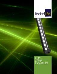 LED StriP Lighting - TechniLite