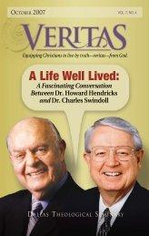 Veritas October 2007 - Dallas Theological Seminary