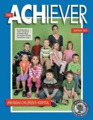 Summer 2007 - Arkansas Children's Hospital