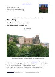 Heidelberg und die RAF - Burgen-Web.de