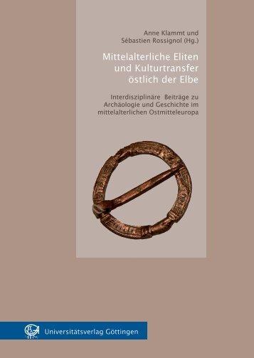 Mittelalterliche Eliten und Kulturtransfer östlich der Elbe - OApen.