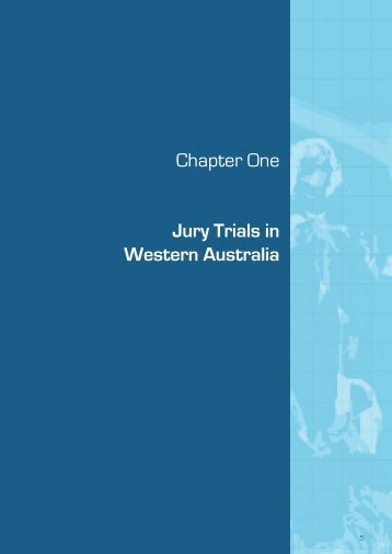 Jury Trials in Western Australia - Law Reform Commission of ...