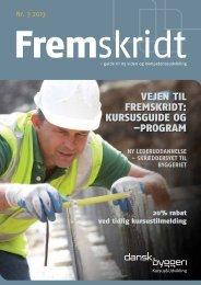 Vejen til fremskridt: kursusguide og –program - Dansk Byggeri