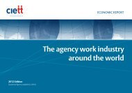 The agency work industry around the world - Eurociett