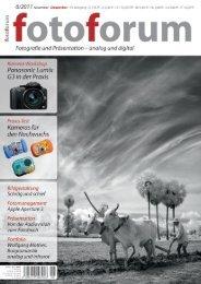 """Portfolio """"fotoforum"""" - Wolfgang Mothes"""