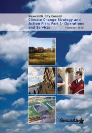 Climate Change Strategy and Action plan - Newcastle City Council