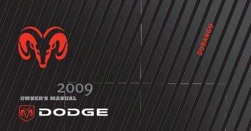 2009 Dodge Durango