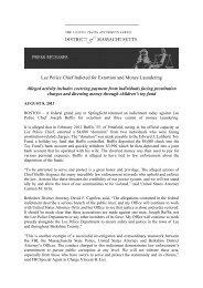 US vs Buffis Press Release - Frank-CS.org