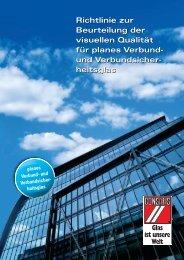 CONSAFIS Richtlinien zur visuellen Qualität von Verbund - Schlatt ...