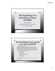Top Things I Learned from 20 Years of TEPAP - AgWeb