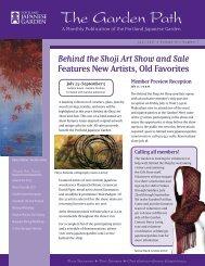 Download in Adobe Acrobat (pdf) format - Japanese Garden