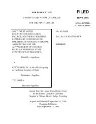 FOR PUBLICATION UNITED STATES COURT OF APPEALS FOR THE