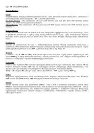 Case IH – Puma 195 Standard Dane techniczne: Silnik ... - Tech-Kom