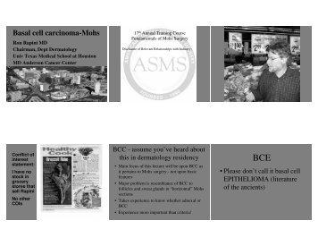 Rapini - V & H Histopathology of BCC
