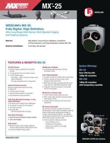 MX-25 - Wescam