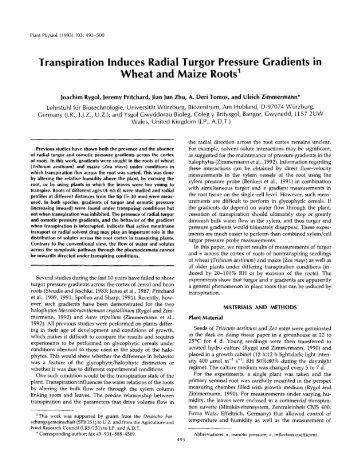 transpiration record articles