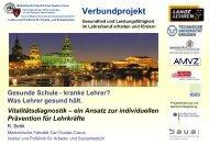 Lehrer - Gesunde Schule Freising
