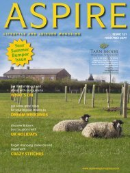 Your Summer Bumper Issue - Aspire Magazine