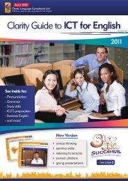 New Version - Clarity English language teaching online