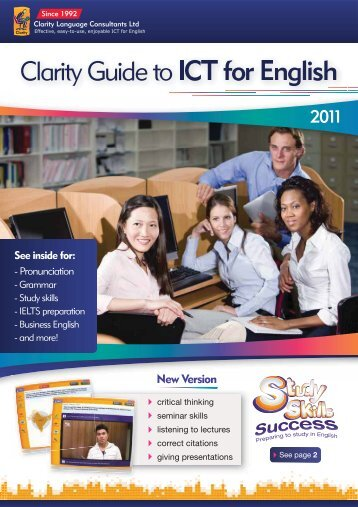 New Version - Clarity English language teaching online