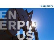 Summary - Enerplus