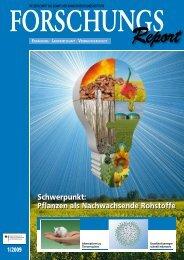 Bioenergie - BMELV-Forschung