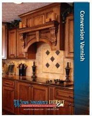 Conversion Varnish - Wood Finisher's Depot